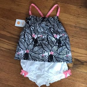 3-6 month NWT baby girl outfit